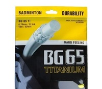 Wholesale-Free shipping BG65Ti badminton string