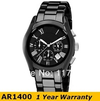Original Watch AR1400 Top Brand Fashion Quartz Round Ceramic Men Analog Watch With Original Box And Certificate 1400 Wholesale