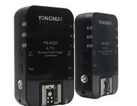 2pcs/lot Yongnuo YN-622C Wireless ETTL HSS 1/8000S Flash Trigger Transceiver for Canon 1100D 1000D 650D 600D 550D 7D 5DII 40D
