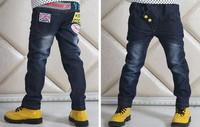 The new children's clothing of spring 2014 children's pants Men's trousers spring Children's wear jeans