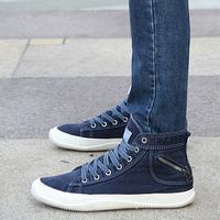 Fashion vintage 2013 lovers canvas shoes fashion casual shoes high denim skateboarding shoes autumn shoes