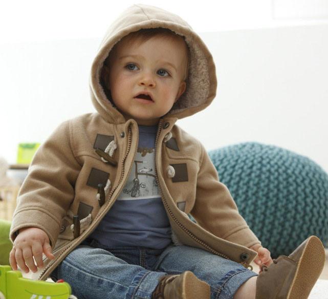 Baby jungen jacke 2014 neue winterkleidung 2-farbige oberbekleidung ...