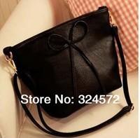 bow handbag new design ,2014 women handbag with butterfly commuter belt buckle big bag wild colorful shoulder bag ,Fashion bags