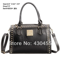 Jaoboo bag 2014 women's handbag cross vintage one shoulder cross-body rivet women's handbag 6053