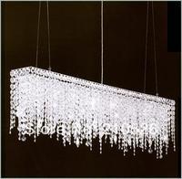 modern luxury k 9 crystal chandelier (80cm*16cm*40cmH) Hanging Lamps Lights Lighting for Home & Hotel Lobby Decor