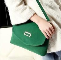 2014 candy color women's bags fashion messenger bag small bag vintage fashion women's handbag