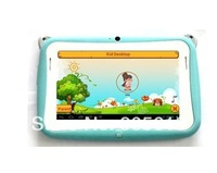 New 4.3' Kids Tablet PC childred table pc Pre-installed Educational Apps &  Android 4.0 Dual Cam Wifi Pink/Blue/Free Case