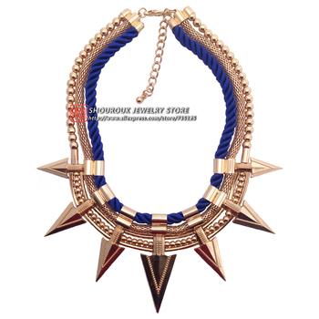 2014 Z Модный torques neckКружево & pendant costume chunky punk choker design ...