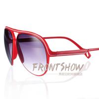 wholesale M31 tidal current male Women stripe sunglasses large frame modified large sunglasses anti-uv sunglasses fashion  5pcs