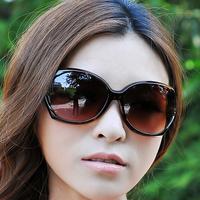 Free shipping can mix color wholesale more preferential M4 female fashion vintage elegant box sunglasses black sun glasses  5pcs