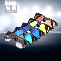 Male sunglasses colorful sunglasses women's fashion all-match fashion vintage sunglasses