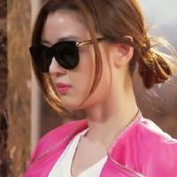 2014 fashion vintage sunglasses female sunglasses big box fashion sun glasses