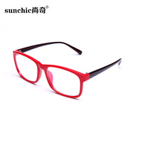 Male Women anti fatigue radiation-resistant glasses the trend of fashion large frame plain mirror pc mirror goggles