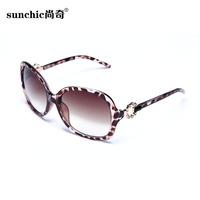 2014 sunglasses anti-uv sunglasses female fashion all-match diamond-studded sunglasses