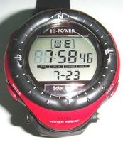 2013 Newest fashion Solar power multifunctional sport climbing watch digital militray watch big face waterproof Mens watch