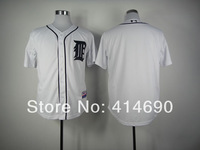 Cheap Authentic Detroit Tigers Blank White Baseball Jerseys