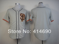 Cheap Authentic San Francisco Giants Blank Grey Baseball Jerseys