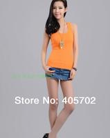 Wholesa summer Korea Women's Tank Top Shirt Hollow-out Vest Waistcoat Camisole Pierced lace hot sale