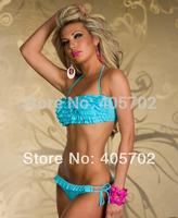 Wholesale - -  Summer Sexy Women Bikini Boho Padded Swimwear Colorful Fringe Tassels Real Class Swimsuit 7 Colors S/M/L