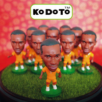 KODOTO 11# DROGBA (CIV) 2014 World Cup Soccer Doll (Global Free shipping)
