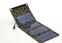 1Set 7W Solar Energy Foldable Charger USB Output For Charging Mobile Phones With Voltage Controller + Free Shipping
