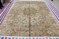 Shaggy Rug For Home Handmade Rug Silk Persian Rug And Carpet For Living Room Modern Carpet For Children Bedroom 9x12 On Sale!