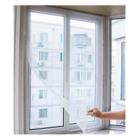 Free shipping     DIY type adhesive anti-mosquito screens/invisible screen window