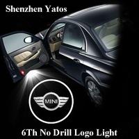 6th Generation Mini Car projector logo lights & door Ghost shadow light /3D logo LED welcome lighting