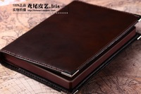 Little bee Sew-on commercial cowhide genuine leather diary sheepskin liner