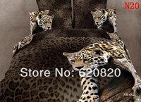 3D Oil Printed Tiger Cotton Home Textile 4 Pcs Bedding Sets Bedcover Bedsheet Set Bedclothes Duvet Quilt Cover Pillow Case Queen