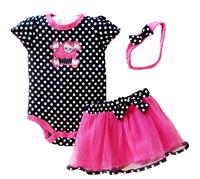 Baby butterfly headdress & Baby Boy's Girl's Dress Suits Romper Type H6325 1LOT/6PCS