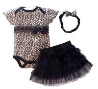 Baby butterfly headdress & Baby Boy's Girl's Dress Suits Romper Type H6327 1LOT/6PCS