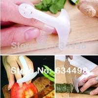 Free Shipping 5pcs/lot 2014 Novelty Household kitchen tool Fruit & Vegetable Cut  Finger Protect FingerGuard tool