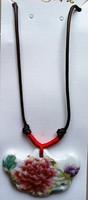 Bone china Necklaces,Stoneware Porcelain Craft Chinese style Neckwear Necklace Ceramic
