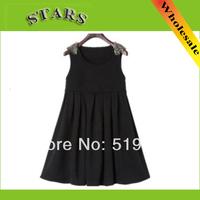 Fashion women 2014 clothes summer spring high street cute tank brief little black dress hanging plus size women clothing dresses
