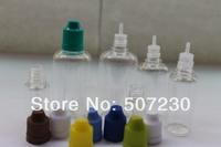 Wholesale 5ml PET childproof cap bottle with thin tip for 2500pcs Dropper bottle plastic bottle