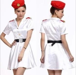 Stewardess uniforms professional the temptation to set ds princess stewardess service sauna beauty work wear(China (Mainland))