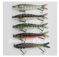 2pcs/lot 142mm/30g Herring Swimbait Minnow Hard bait LifeLike Fishing Lure Fishing Hook Fishing Tackle soft lure sea bait worm