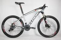 carbon mtb bike with look complete bike e-post mtb frame/mtb handlebar/mtb wheels/mountain fork/sram x7 groups carbon 26er bike
