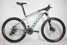 carbon mtb bike with look complete bike e-post mtb frame/mtb handlebar/mtb wheels/mountain fork/sram x7 groups carbon 26er bike(China (Mainland))