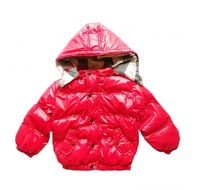 Rnew 2014- Baby boys black red  black long  sleeve down soild  crotton  Children fashion chirdren cotton down