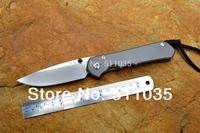 Sebenza 25 large sebenza Chris Reeve folding knife 25 anniversary D2 blade with stone wash TC4 titanium alloy handle