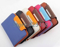 Free shipping Universal Doogee DG500 phone Leather Case Flip case protective cover