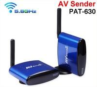 Free shipping 5.8Ghz Wireless AV Audio Video TV Sender Transmitter and Receiver for IPTV DVD STB DVR ,PAT-630