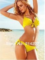 Five Solid Color  New Arrival Tankini Women Swimwear Bikini Sexy Beach Swim Wear Swimsuits Beachwear Bathers