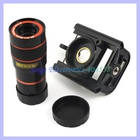With Clip Universal Mobile Phone Telescope Lens 8X Zoom Telephoto Lens