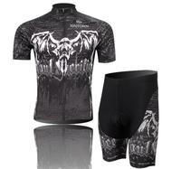 2014 New Hot Fashion men's short sleeves quick dry cycling wear clothes bicycle/bike/riding jerseys + bid shorts Wholesale CJ013
