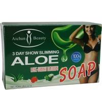 Free shipping 100g/pcs Aloe detoxify Slimming & Bodycare Soap  weight loss soap