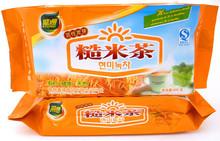 Free Shipping Premium 600g Brown Rice Tea Green Tea Organic Natural Loose Tea Chinese Golden Tea Green Food Slimming products