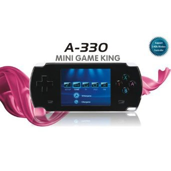 Dingoo A330 Console Handheld 8 16 32bit 3D Emulator Video Game Player LCD 2.8 inch(Black) support DINGUX system/ dingoo a320(China (Mainland))